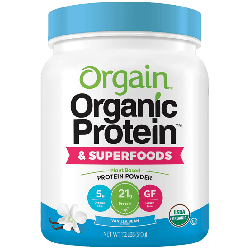 $5.00 for Orgain® Organic Protein & Superfoods Powder (expiring on Monday, 07/01/2019). Offer available at Target.