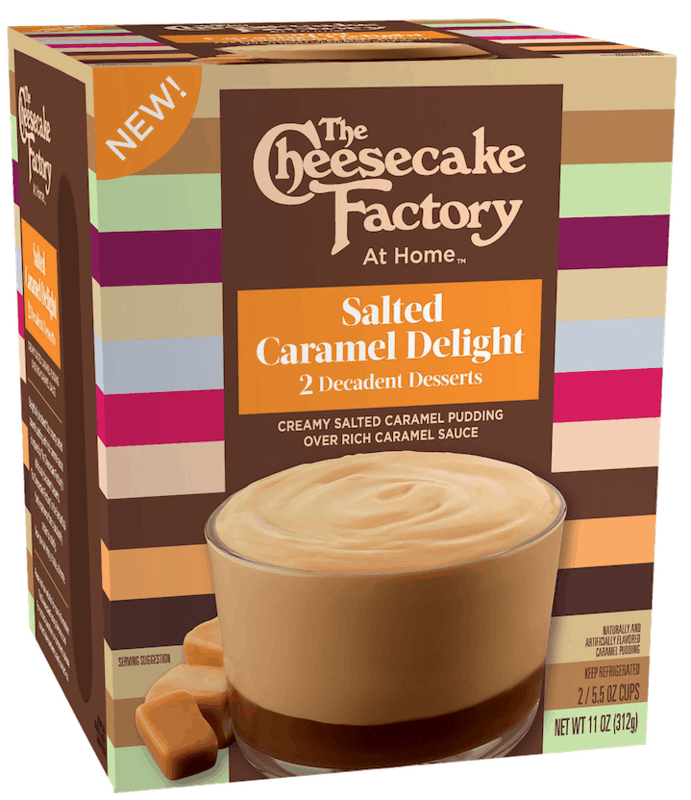 $1.00 for The Cheesecake Factory at Home Decadent Desserts (expiring on Thursday, 07/23/2020). Offer available at Walmart, Walmart Grocery.