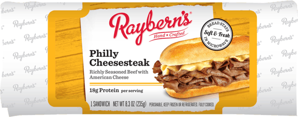 $0.50 for Raybern's Deli Sandwiches (expiring on Sunday, 04/07/2019). Offer available at Walmart.