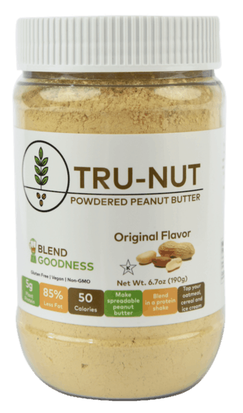 $0.50 for Tru-Nut Powdered Peanut Butter (expiring on Friday, 11/30/2018). Offer available at multiple stores.