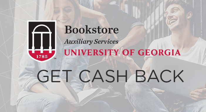 $0.00 for University of Georgia (expiring on Wednesday, 04/30/2025). Offer available at eFollett.