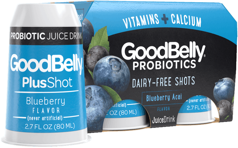 $1.00 for GoodBelly Probiotics Shots (expiring on Saturday, 02/29/2020). Offer available at Publix.