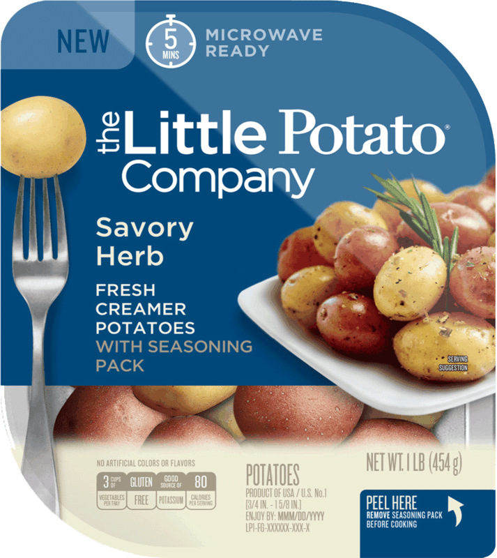 $0.25 for The Little Potato Company Potatoes. Offer available at multiple stores.