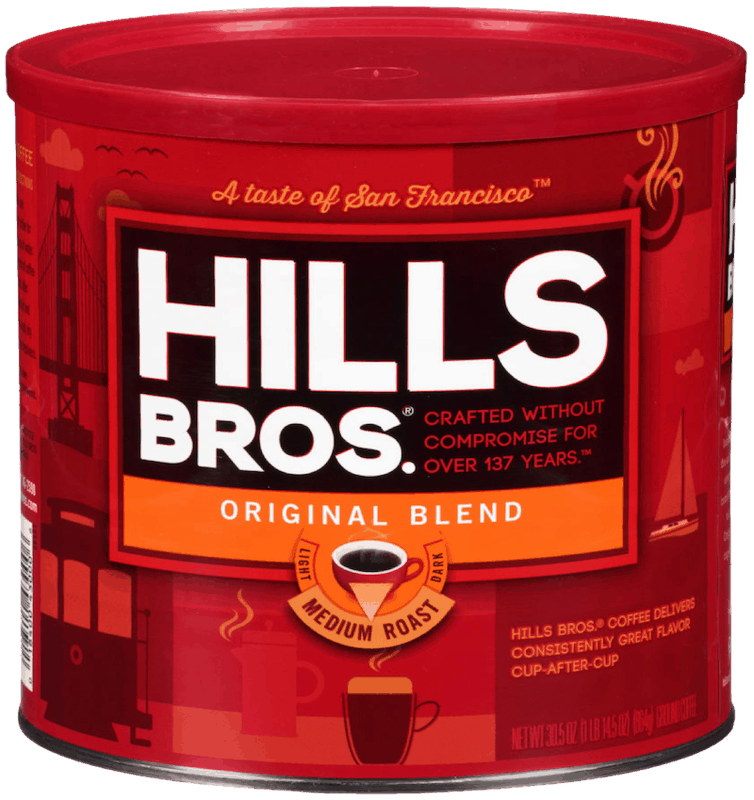 $1.00 for Hills Bros.® Ground Coffee (expiring on Thursday, 01/02/2020). Offer available at Walmart.