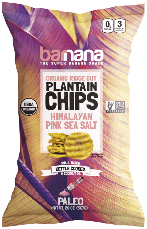 $1.00 for Barnana® Himalayan Pink Salt Plantain Chips (Organic) (expiring on Monday, 08/31/2020). Offer available at Costco.