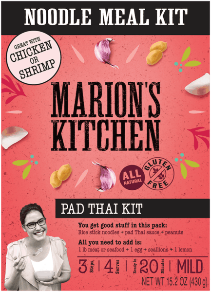 $1.00 for Marion's Kitchen Cooking Kits (expiring on Sunday, 09/02/2018). Offer available at Walmart.