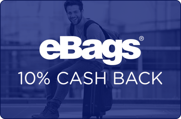 $0.00 for eBags (expiring on Thursday, 09/20/2018). Offer available at eBags.