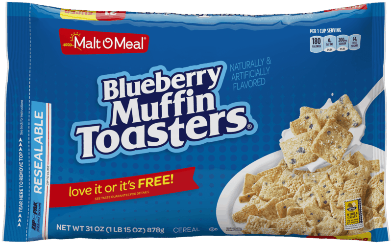 $0.50 for Malt O' Meal Blueberry Muffin Toasters (expiring on Tuesday, 06/30/2020). Offer available at multiple stores.