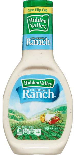 $0.50 for Hidden Valley® Ranch® (expiring on Wednesday, 05/02/2018). Offer available at multiple stores.