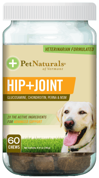$1.50 for Pet Naturals® Hip + Joint (expiring on Tuesday, 10/15/2019). Offer available at Walmart.