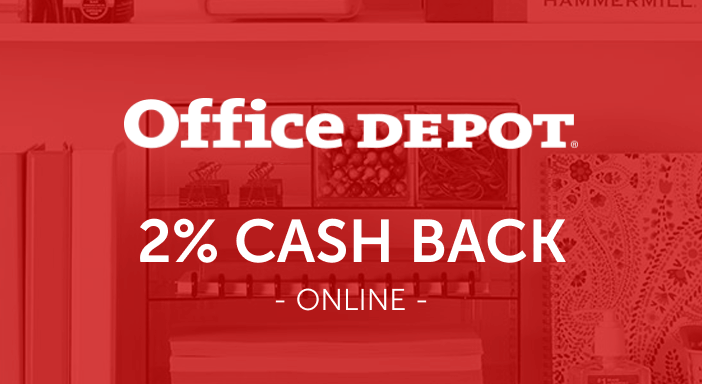 $0.00 for Office Depot (expiring on Tuesday, 09/30/2025). Offer available at Office Depot .