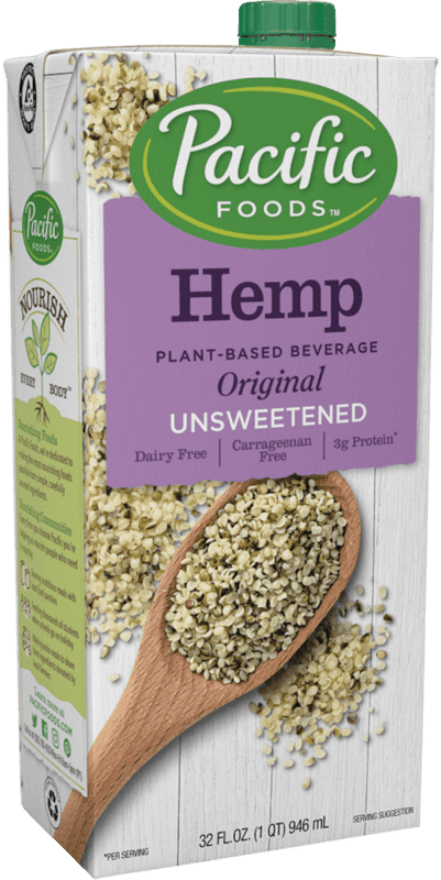 $1.00 for Pacific Foods™ Hemp Plant-Based Beverage (expiring on Tuesday, 02/11/2020). Offer available at multiple stores.