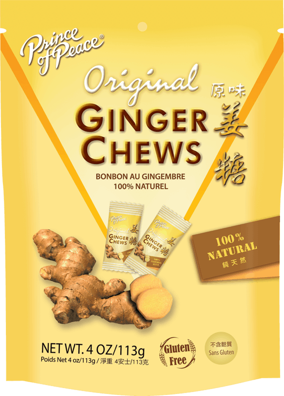 $0.75 for Prince of Peace Ginger Chews (expiring on Monday, 01/31/2022). Offer available at multiple stores.