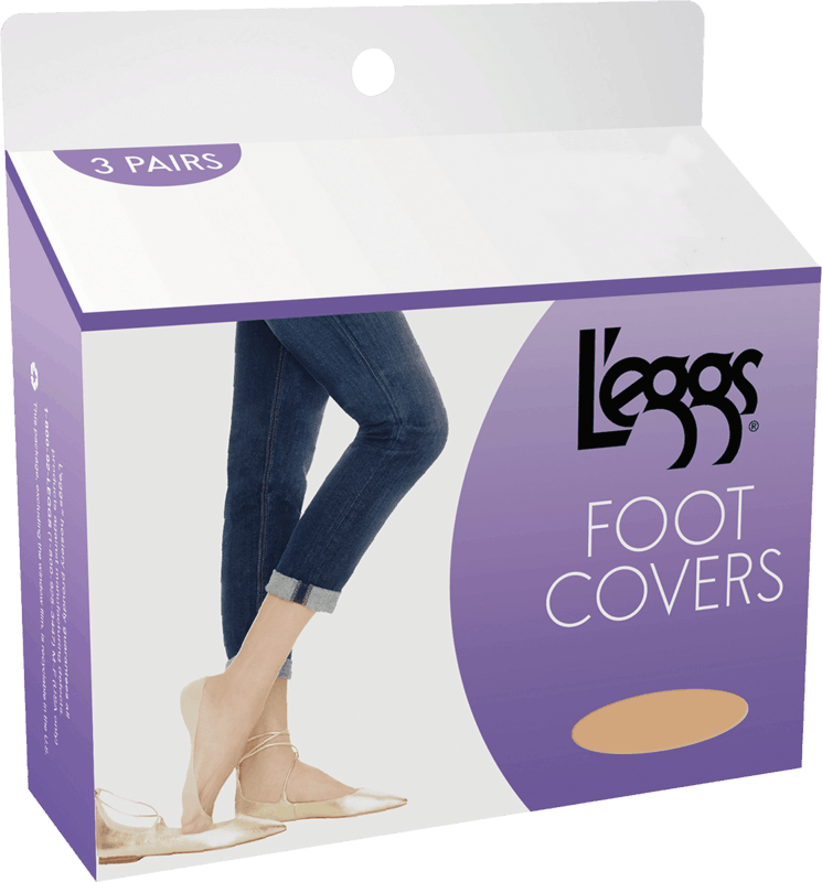 $0.75 for L'eggs® Foot Covers or Trouser Socks (expiring on Thursday, 07/02/2020). Offer available at Dollar General.