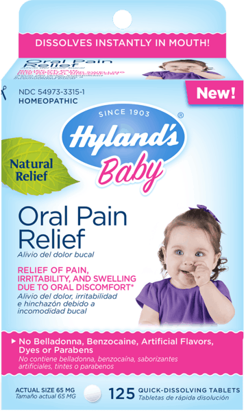 $1.50 for Hyland's® Baby Oral Pain Relief Tablets (expiring on Tuesday, 04/02/2019). Offer available at multiple stores.