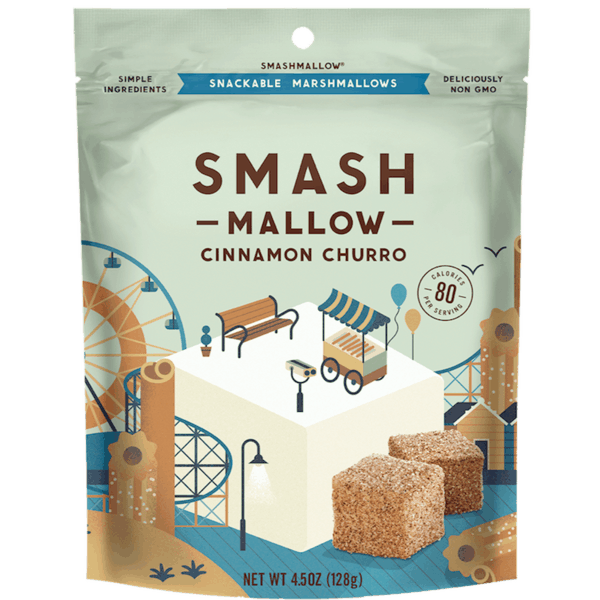 $1.00 for SMASHMALLOW® & SMASHCRISPY® (expiring on Saturday, 05/18/2019). Offer available at multiple stores.