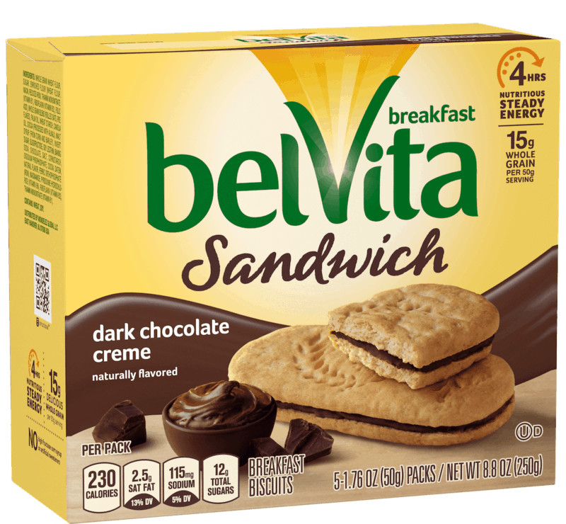 $0.50 for BELVITA Breakfast Biscuits (expiring on Sunday, 02/02/2020). Offer available at Walmart.