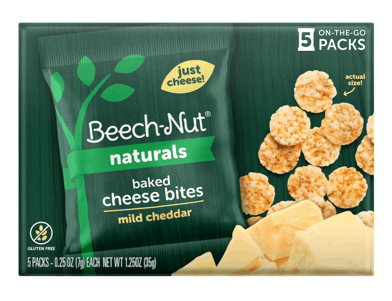 $1.50 for Beech-Nut Naturals Cheese Bites (expiring on Friday, 07/24/2020). Offer available at Walmart, Walmart Grocery.