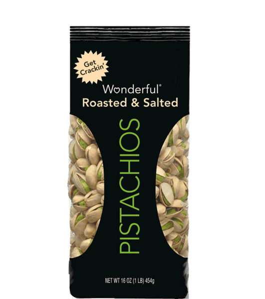 $0.50 for Roasted Salted Wonderful® Pistachios (expiring on Tuesday, 04/24/2018). Offer available at PriceRite.