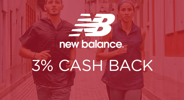 $0.00 for New Balance (expiring on Monday, 03/31/2025). Offer available at New Balance.
