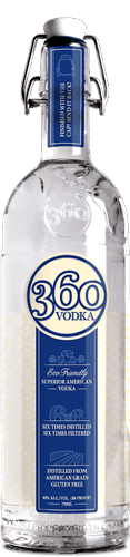 $4.00 for 360 Vodka™ (expiring on Monday, 01/01/2018). Offer available at multiple stores.