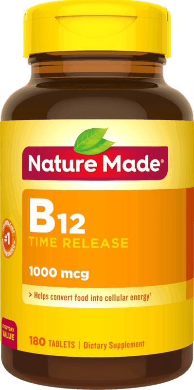 $1.75 for Nature Made® Vitamin B12. Offer available at Walmart.