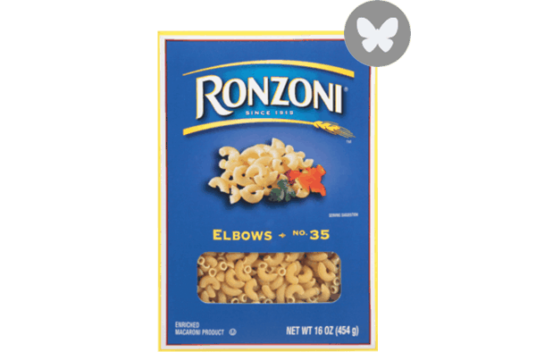 $0.50 for Ronzoni® Pasta (expiring on Wednesday, 05/02/2018). Offer available at multiple stores.