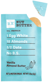 $0.40 for RX Nut Butter (expiring on Sunday, 12/06/2020). Offer available at multiple stores.