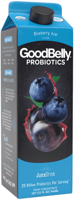 $0.50 for GoodBelly Probiotics JuiceDrink (expiring on Sunday, 01/31/2021). Offer available at multiple stores.