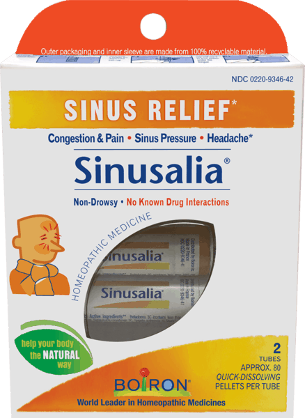 $1.00 for Boiron® Sinusalia® Pellets (expiring on Wednesday, 08/01/2018). Offer available at Walgreens, Giant Eagle, Wegmans, Whole Foods Market®, Sprouts Farmers Market.