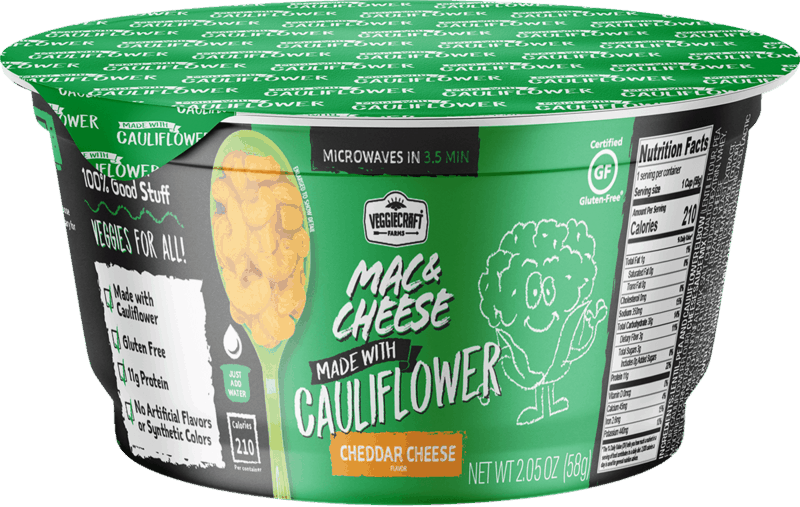 $1.00 for Veggiecraft Farms Mac & Cheese Cups (expiring on Wednesday, 04/15/2020). Offer available at Walmart, Walmart Grocery.