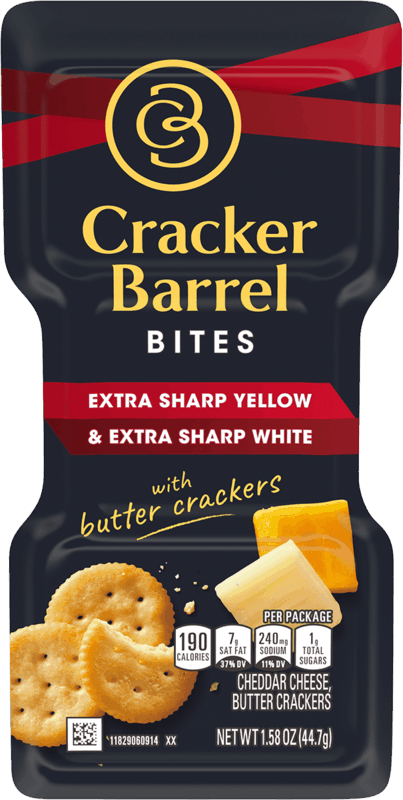 $0.50 for Cracker Barrel Bites (expiring on Sunday, 05/31/2020). Offer available at multiple stores.