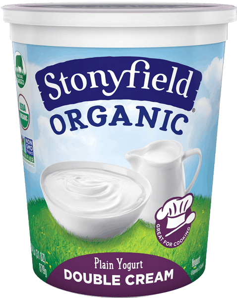 $1.25 for Stonyfield® Double Cream (expiring on Monday, 10/16/2017). Offer available at multiple stores.