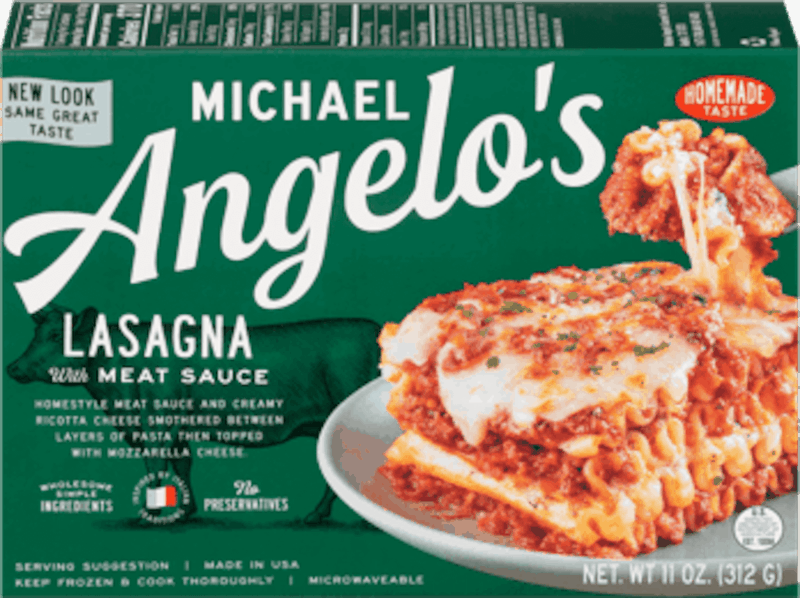$0.75 for Michael Angelo's Frozen Entrees (expiring on Tuesday, 12/01/2020). Offer available at multiple stores.