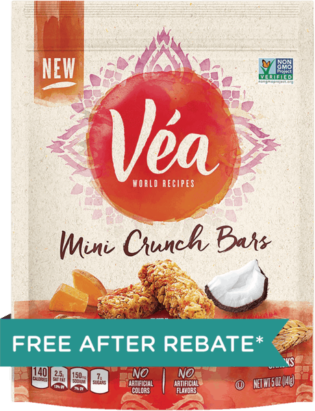 $3.75 for Véa World Recipes (expiring on Monday, 04/02/2018). Offer available at Walmart.