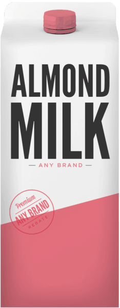$0.25 for Almond Milk - Any Brand (expiring on Saturday, 02/02/2019). Offer available at multiple stores.