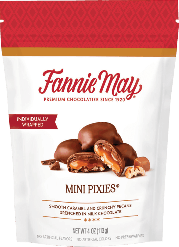 $1.50 for Fannie May Chocolate Premium Bag (expiring on Monday, 05/31/2021). Offer available at Meijer.