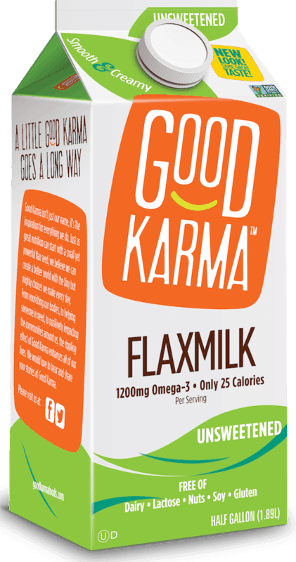 $1.50 for Good Karma Plant-Based Milk (expiring on Sunday, 06/14/2020). Offer available at multiple stores.