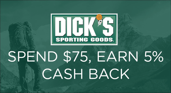 $0.00 for DICKS Sporting Goods® (expiring on Tuesday, 01/01/2019). Offer available at Dick's Sporting Goods.