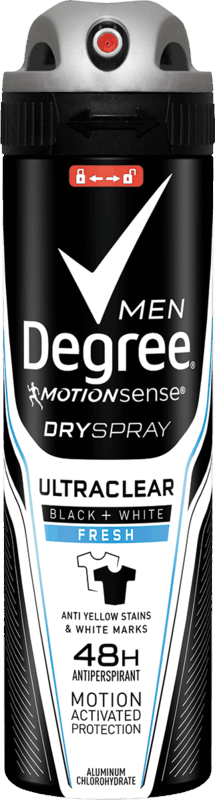 $1.25 for Degree Men Dry Spray. Offer available at Walmart, Walmart Pickup & Delivery.