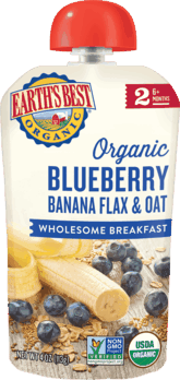 $1.00 for Earth's Best Organic® Pouches. Offer available at Walmart.