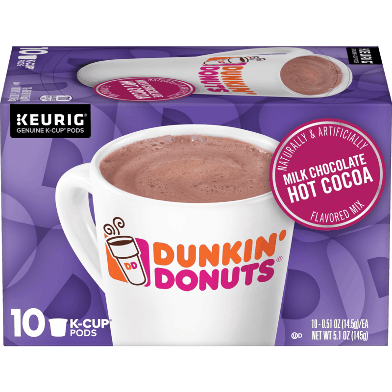 $0.25 for Dunkin'® K-Cup® pod coffee product (expiring on Monday, 11/18/2019). Offer available at Target, Walmart.