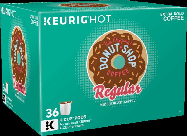 $2.25 for The Original Donut Shop® K-Cup® pods (expiring on Sunday, 12/17/2017). Offer available at Target, Walmart, Kroger.