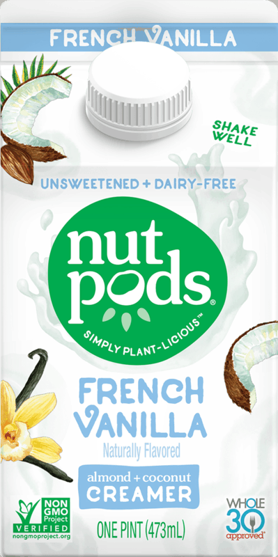 $0.50 for nutpods® Dairy Free Coffee Creamer (expiring on Sunday, 02/02/2020). Offer available at multiple stores.