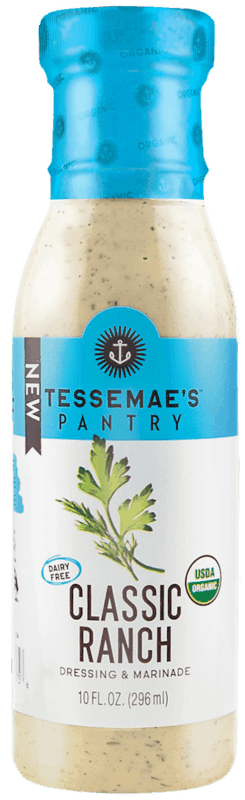 $1.25 for Tessemae's Dressings & Condiments (expiring on Sunday, 08/02/2020). Offer available at multiple stores.