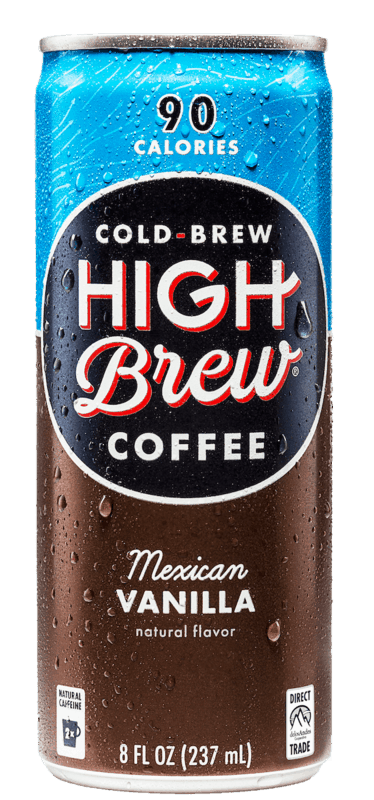 $0.50 for High Brew Cold Brew Coffee (expiring on Saturday, 08/24/2019). Offer available at multiple stores.