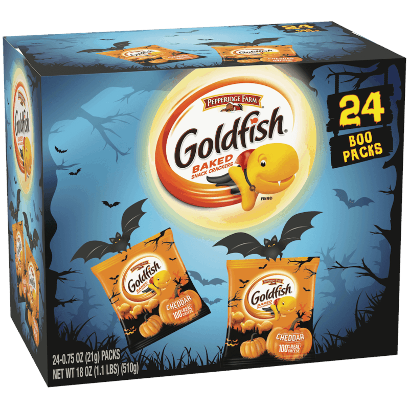 $2.00 for Goldfish Halloween. Offer available at Walmart, Walmart Pickup & Delivery.