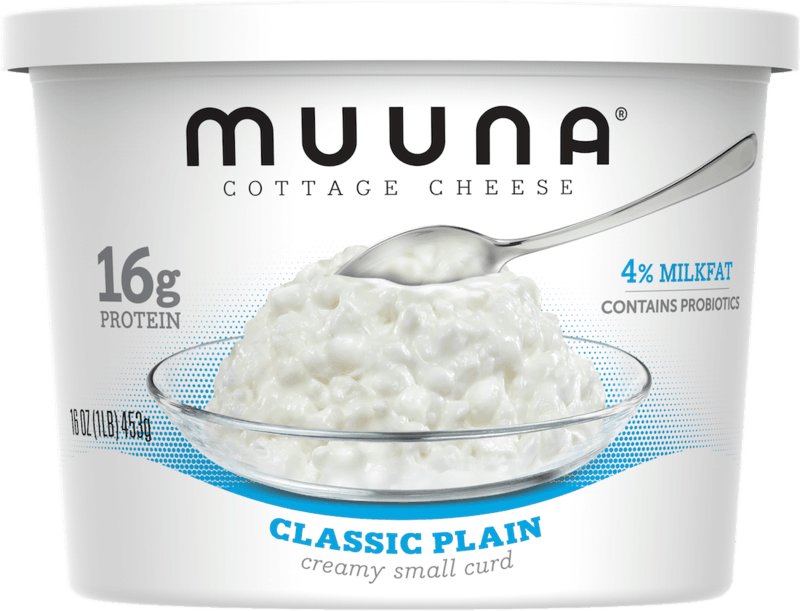 $0.75 for Muuna® Cottage Cheese Classic Plain (expiring on Monday, 09/02/2019). Offer available at Walmart.