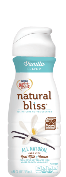 $1.00 for NESTLÉ® COFFEE MATE® natural bliss® coffee creamer (expiring on Wednesday, 04/26/2017). Offer available at Stop & Shop, Martin's (IN, MI), Giant (DC,DE,VA,MD), GIANT (PA,WV,MD,VA), MARTIN'S.