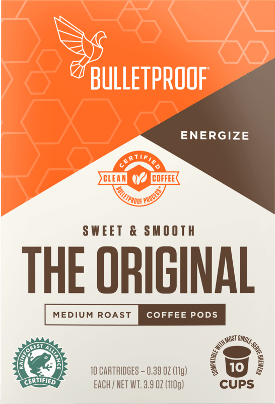 $5.00 for Bulletproof Coffee Pods. Offer available at Target, Target Online.